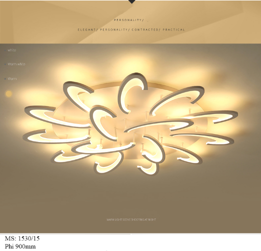 Đèn trần acylic