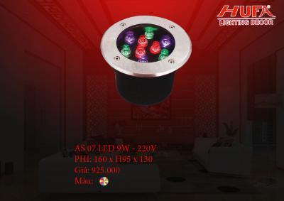 Đèn âm nước HUFA AS 07 led 9W - 220V