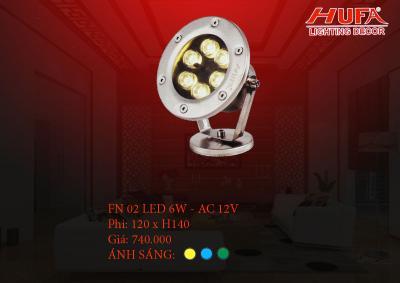 Đèn âm nước HUFA FN 02 led 6W - AC 12V