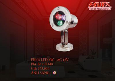 Đèn âm nước HUFA FN 05 led 3W - AC 12V