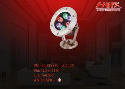 Đèn âm nước HUFA FN 06 led 6W - AC 12V