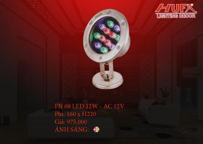 Đèn âm nước HUFA FN 08 led 12W - AC 12V