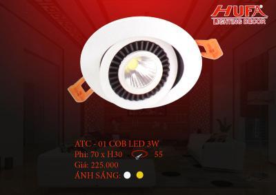 Đèn chiếu điểm cao cấp HUFA ATC - 01 cob led 3W