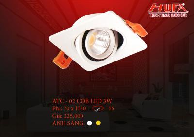Đèn chiếu điểm cao cấp HUFA ATC - 02 cob led 3W