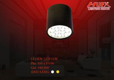 Đèn chiếu điểm cao cấp HUFA LS đen led12W
