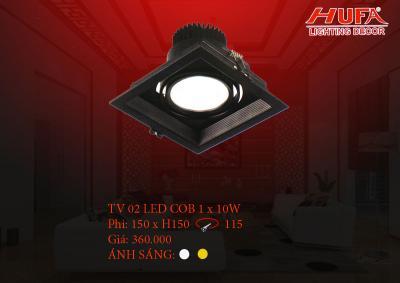 Đèn chiếu điểm cao cấp HUFA TV02 led cob 1 x 10W