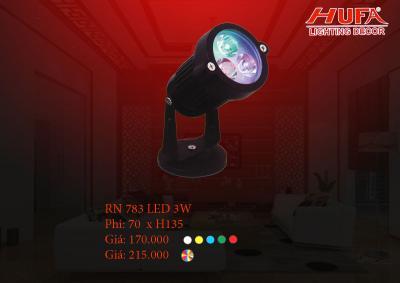 Đèn chiếu mặt dựng HUFA RN 783 led 3W xoay màu