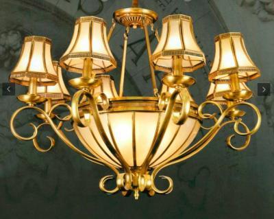 Đèn Chùm Đồng UCD834-8 Ø900