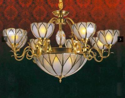 Đèn Chùm Đồng UCD9001-8 Ø1000