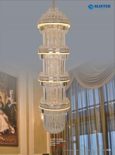 Đèn Chùm Pha Lê PL9098