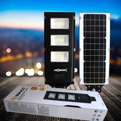 Giá Đèn đường năng lượng pin liền thể ES 120w