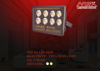 Đèn pha led cao cấp HUFA FAD 400 led 400W