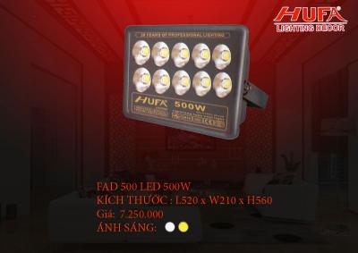 Đèn pha led cao cấp HUFA FAD 500 led 500W