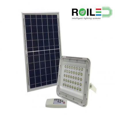 Đèn pha năng lượng mặt trời cao cấp Roiled RL0005 60W