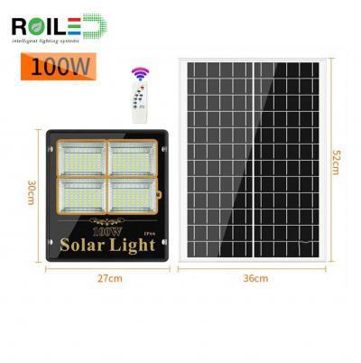 Giá Bán Đèn pha năng lượng mặt trời Roiled RL 0003 100W