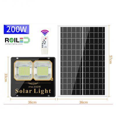 Đèn pha năng lượng mặt trời Roiled RL 0004 200W