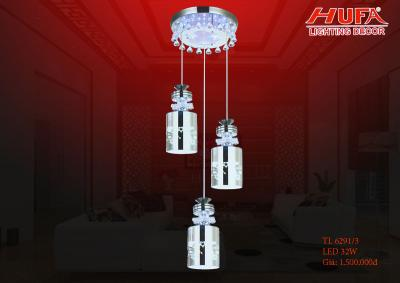 Đèn thả trần led pha lê siêu đẹp TL 6291/3