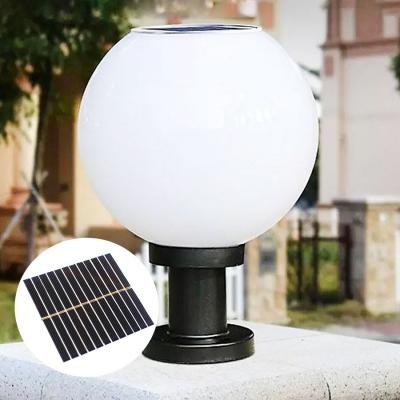 Giá Đèn trụ cổng tròn sử dụng năng lượng mặt trời