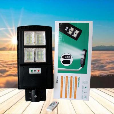 Giá Đèn đường pin liền thể thế hệ mới LT 60w có remote