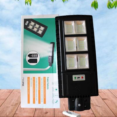Giá đèn đường pin liền thể thế hệ mới LT 90w có điều khiển